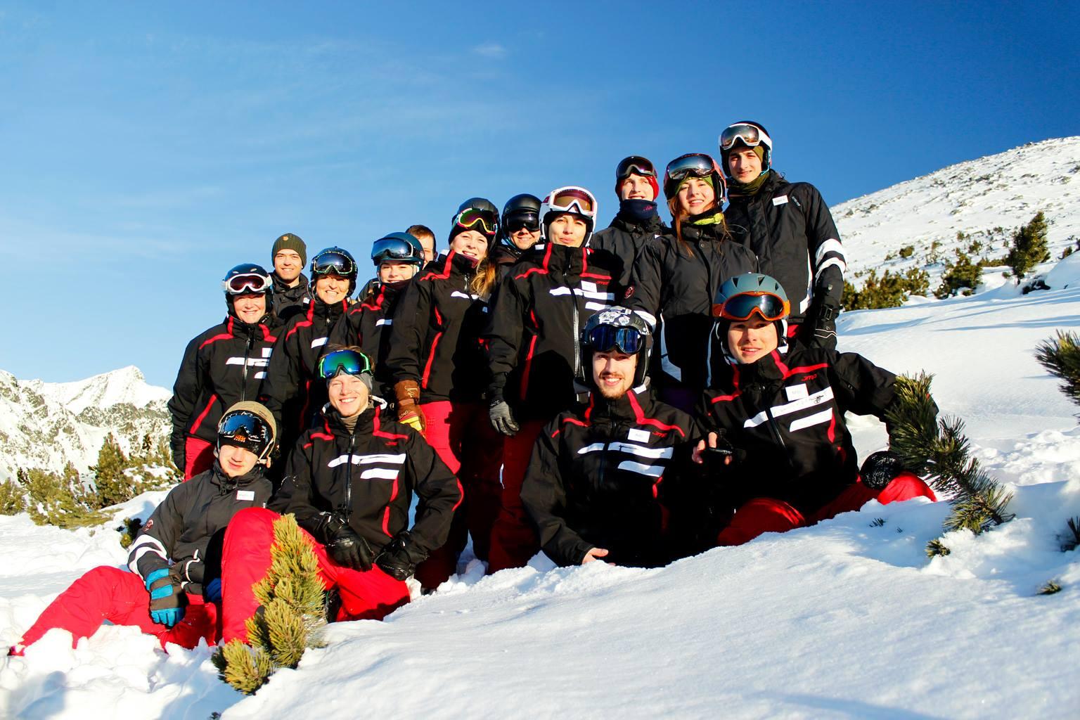 Ski school; alpine; crosscountry; skiing; snowboarding; Štrbské Pleso; High Tatras