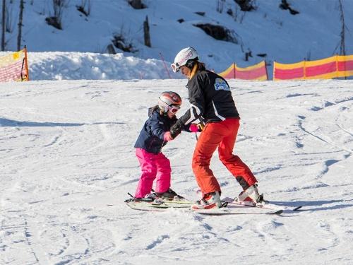 Individuálne kurz detského lyžovanie