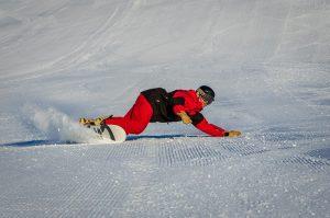 Snowboardová výuka - carving