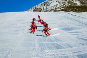 Naši inštruktori - skupinové lyžovanie