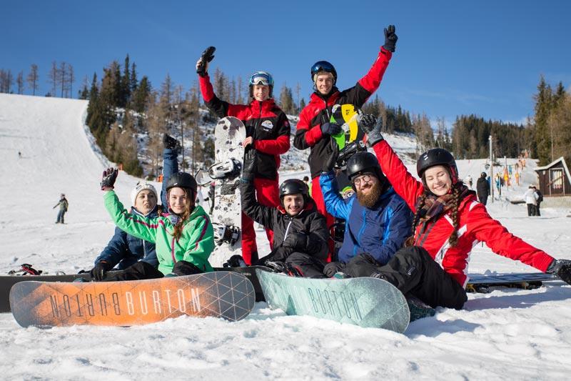 Snowboarding - Skupinová výuka