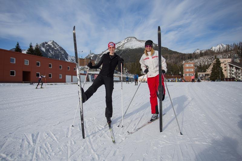 Bežecké lyžovanie - výuka